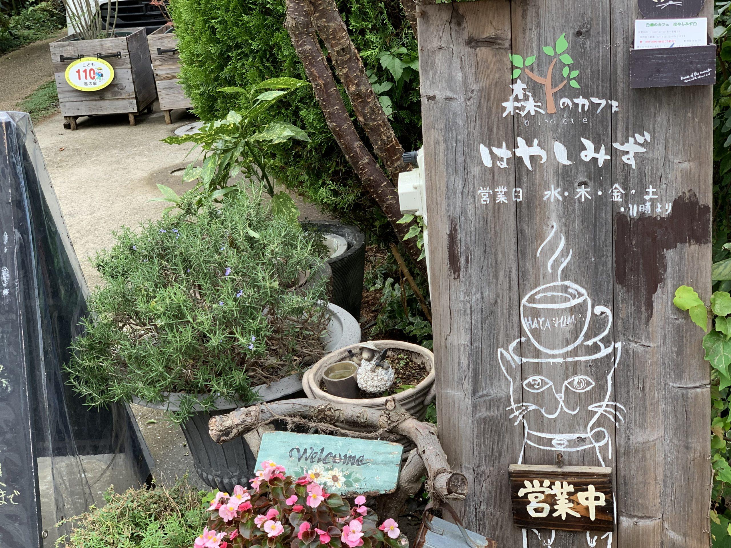 鎌ヶ谷駅東口 電源カフェ 森のカフェ はやしみず Wi-Fi