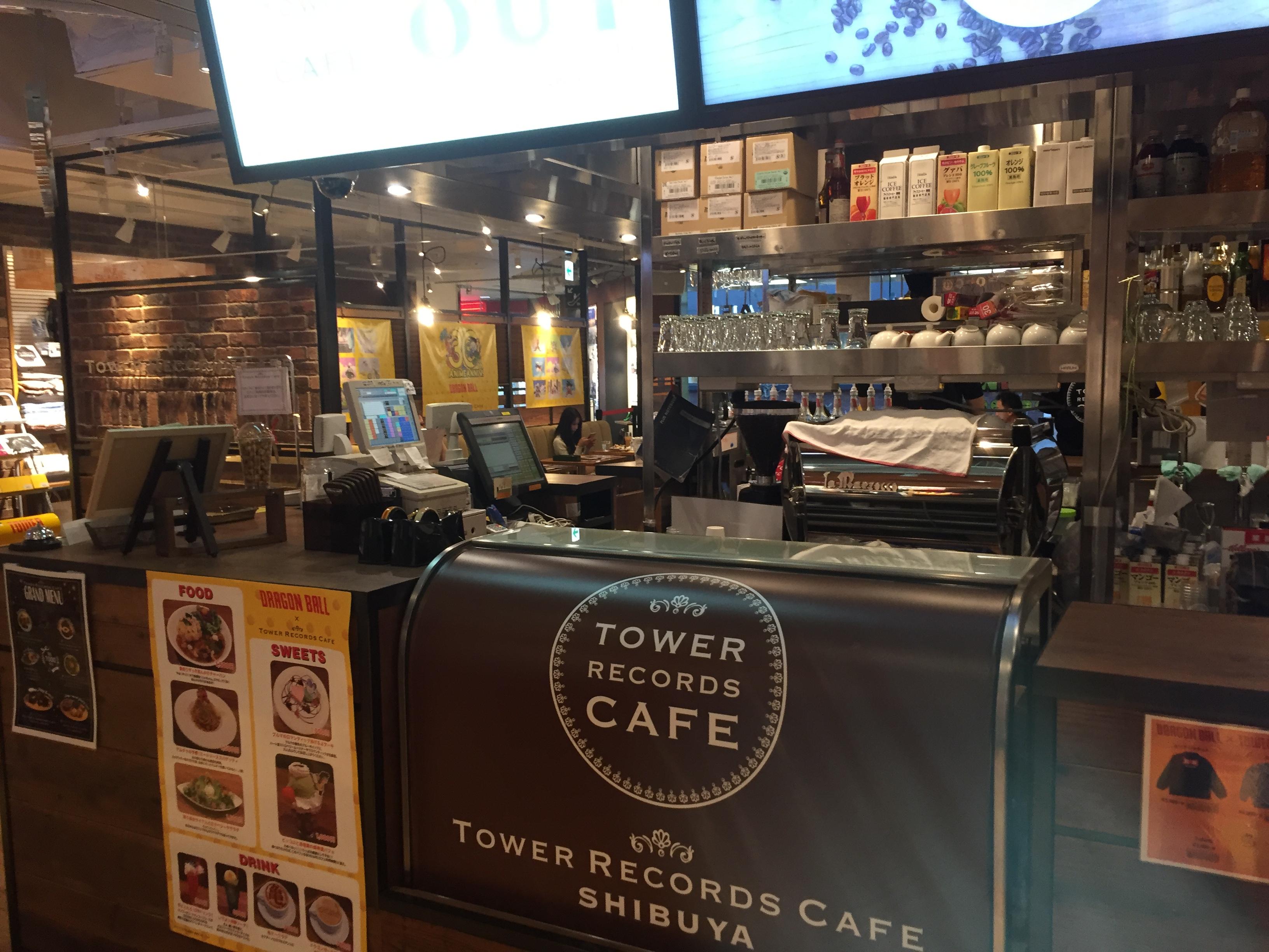 渋谷駅ハチ公口 TOWER RECORDS CAFE 渋谷店