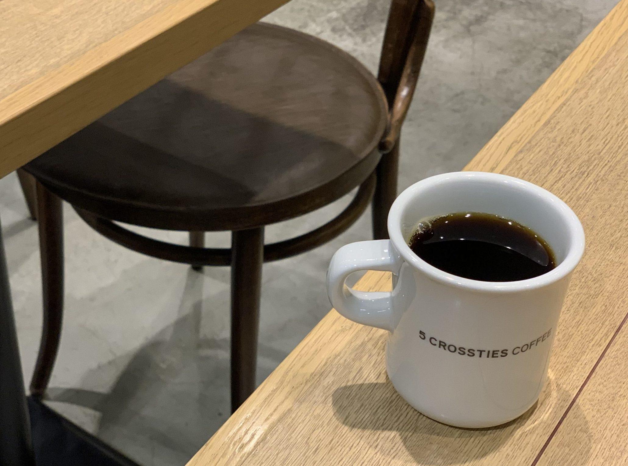 渋谷駅直結 電源カフェ 5 CROSSTIES COFFEE 渋谷スクランブルスクエア Wi-Fi