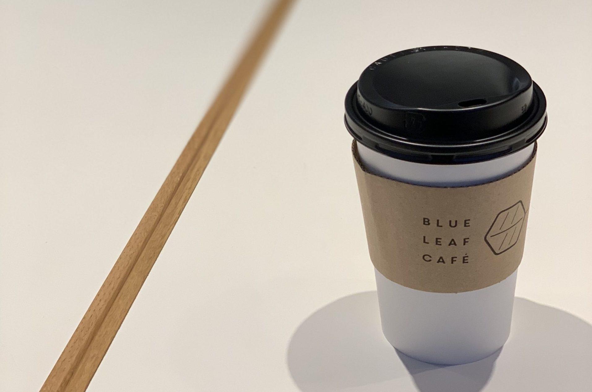 京都河原町駅8番出口 電源カフェ BLUE LEAF CAFÉ (ブルーリーフカフェ)京都 Wi-Fi