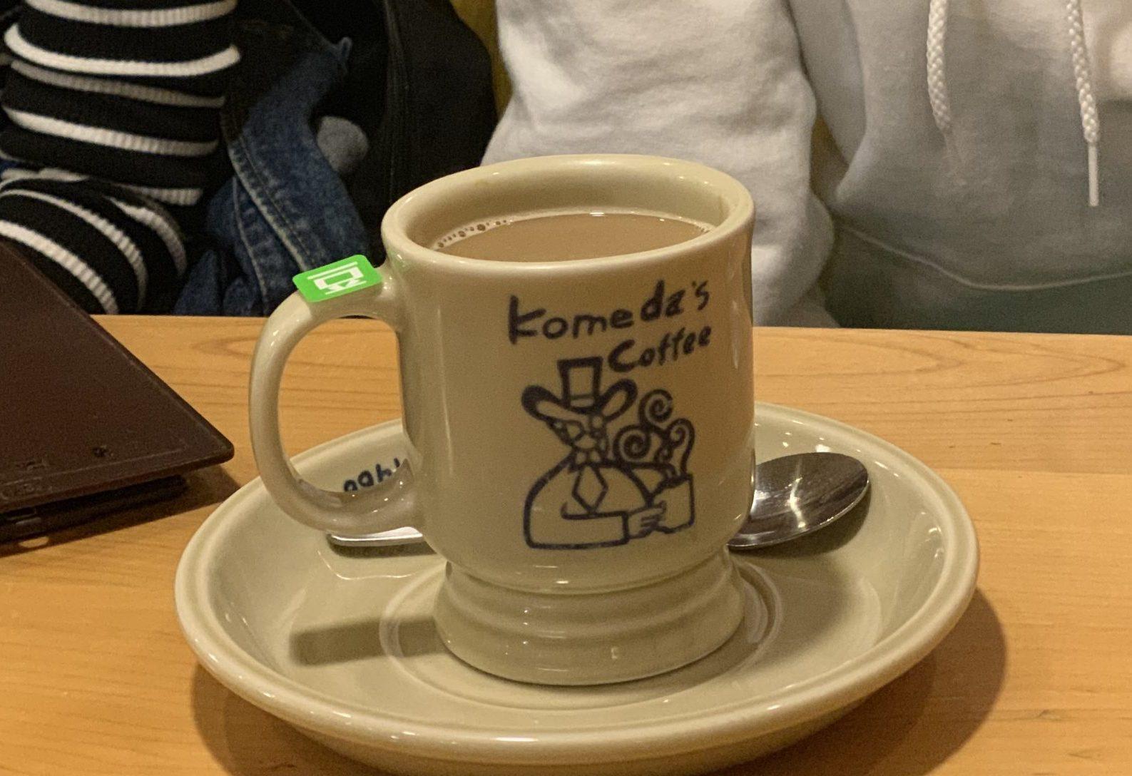 大須観音駅3番出口 電源カフェ コメダ珈琲店 日置橋店 Wi-Fi