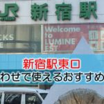 新宿駅東口 打ち合わせで使えるおすすめカフェ・ラウンジ