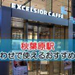 秋葉原駅 打ち合わせで使えるおすすめカフェ・ラウンジ