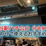 渋谷駅ハチ公口(NHK・奥渋) 打ち合わせで使えるおすすめカフェ・ラウンジ