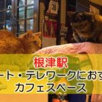 根津駅 リモート・テレワークにおすすめなカフェスペース