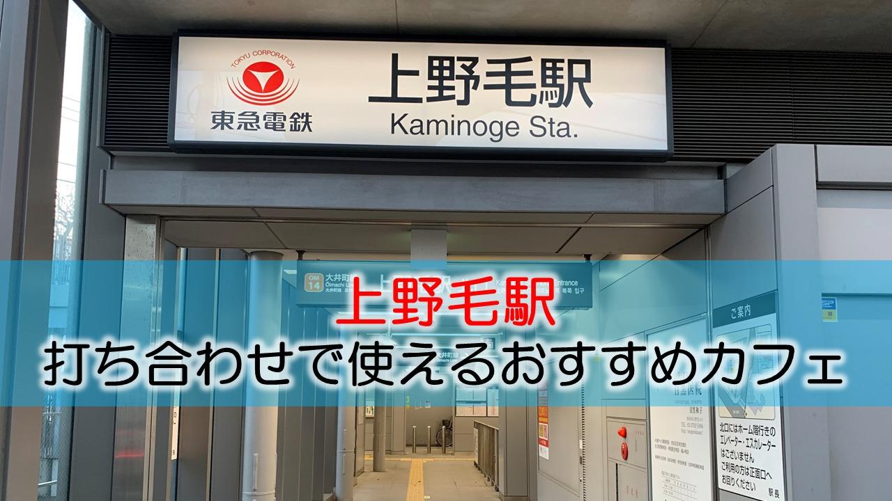 上野毛駅 打ち合わせで使えるおすすめカフェ・ラウンジ
