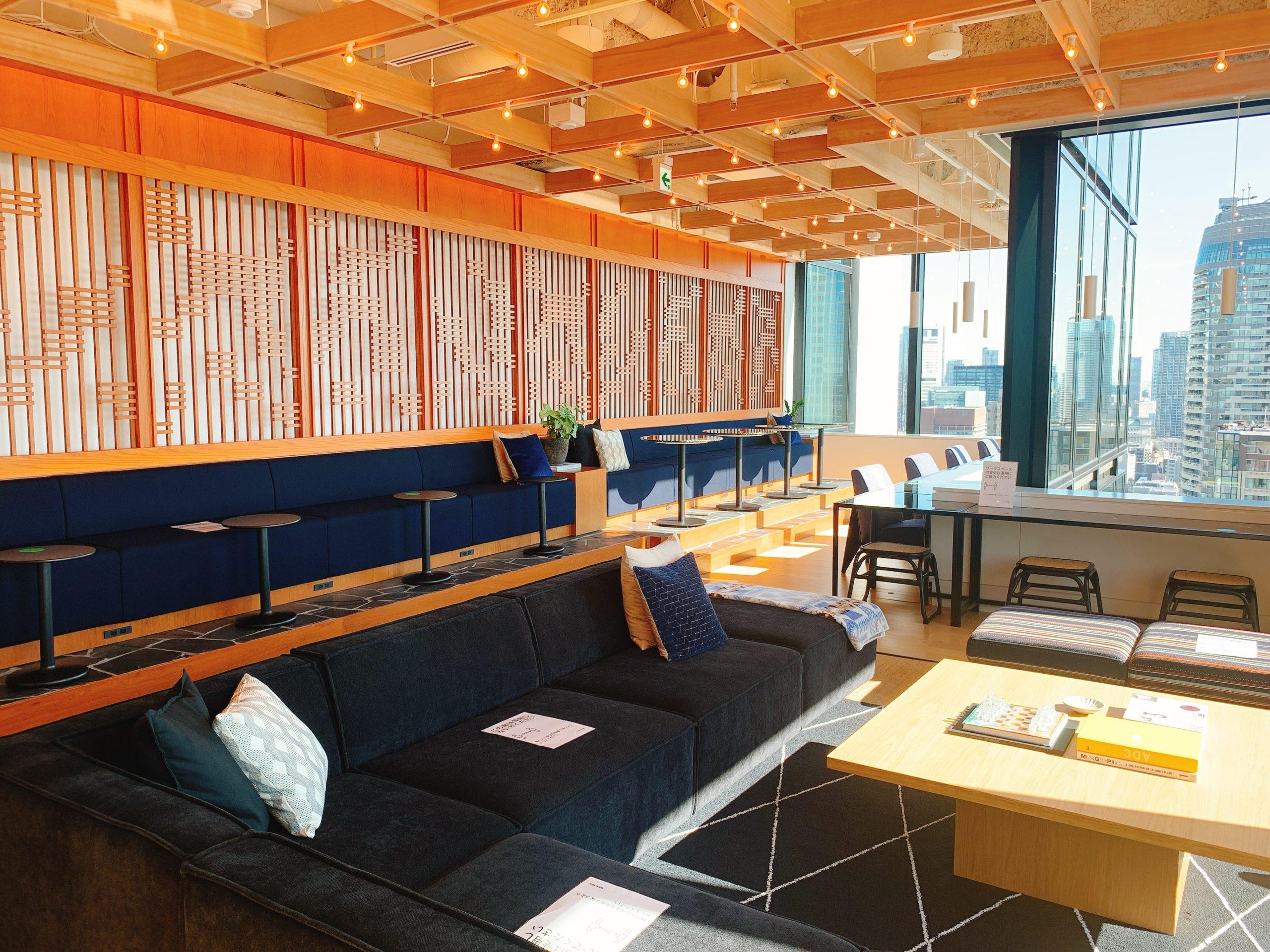 WeWork神谷町トラストタワーのコワーキングスペース・設備を利用した感想