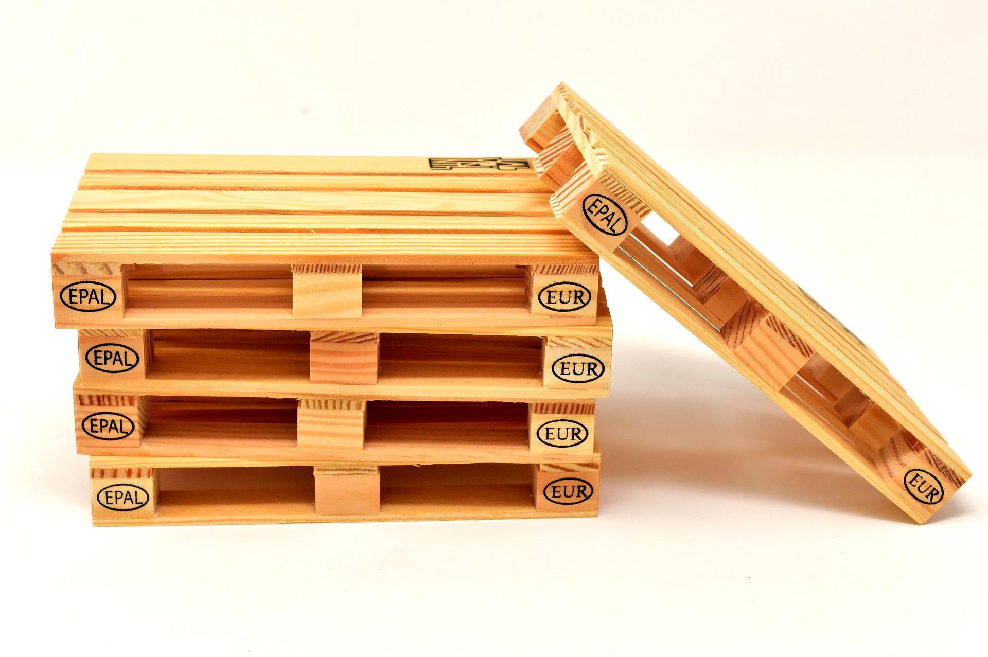 木製パレット コワーキングスペース